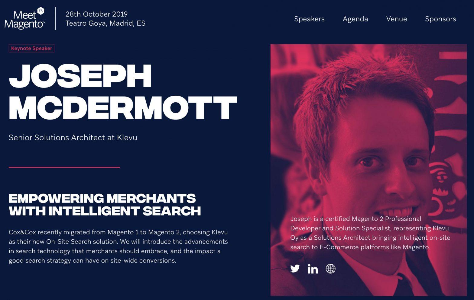 Keynote Meet Magento Spain